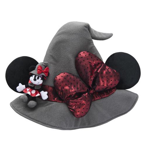 日本東京迪士尼樂園限定商品 萬聖節 米妮 髮箍 變裝 造型 帽子
