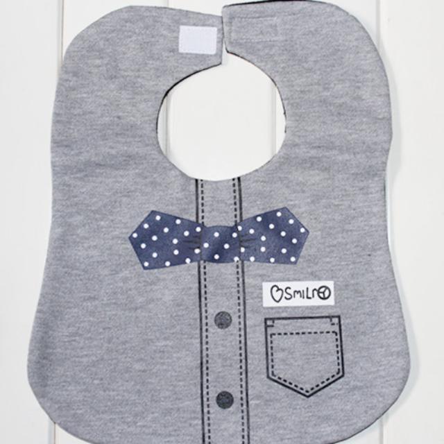 領結圍兜兜(口水巾 領帶 造型 嬰兒 寶寶 禮服 喜宴兜 帥氣 蝴蝶結)