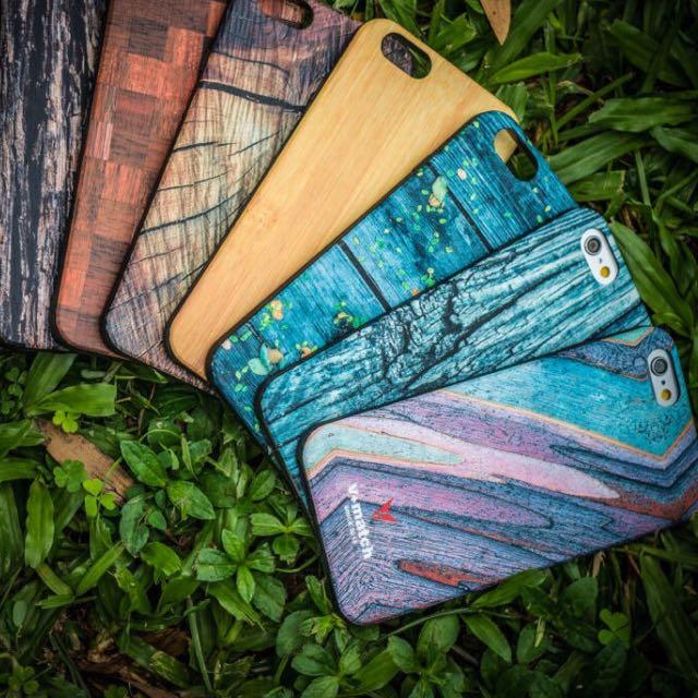 木紋 Iphone手機殼