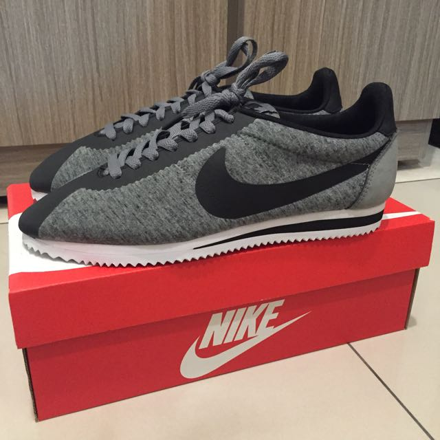 (含運) 全新 Nike 阿甘鞋 灰