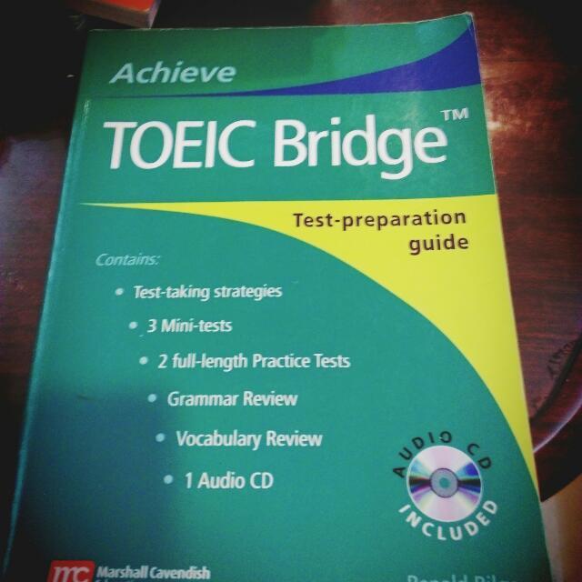 Achieve TOEIC Bridge 二手多益普級書