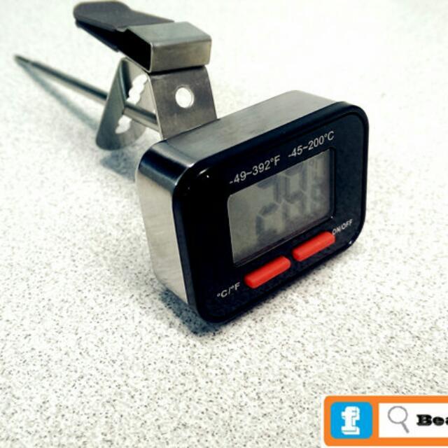Tiamo 速顯 電子 溫度計 HK0442 /手沖 打奶泡 虹吸壺 咖啡 專用