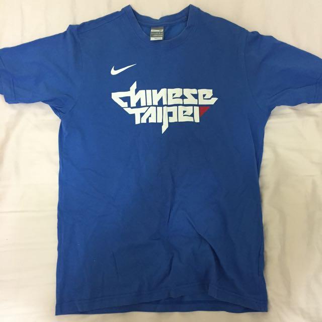 瓊斯盃Chinese Taipei限量T-shirt(M) (非dri Fit)