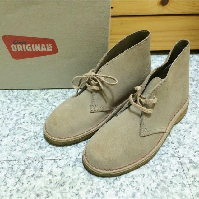 Clarks Desert Boot 沙漠靴(沙色麂皮)