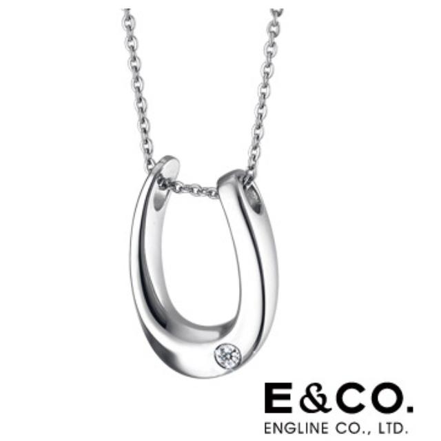 降【E&CO.】歐姆簡約白鋼項鍊