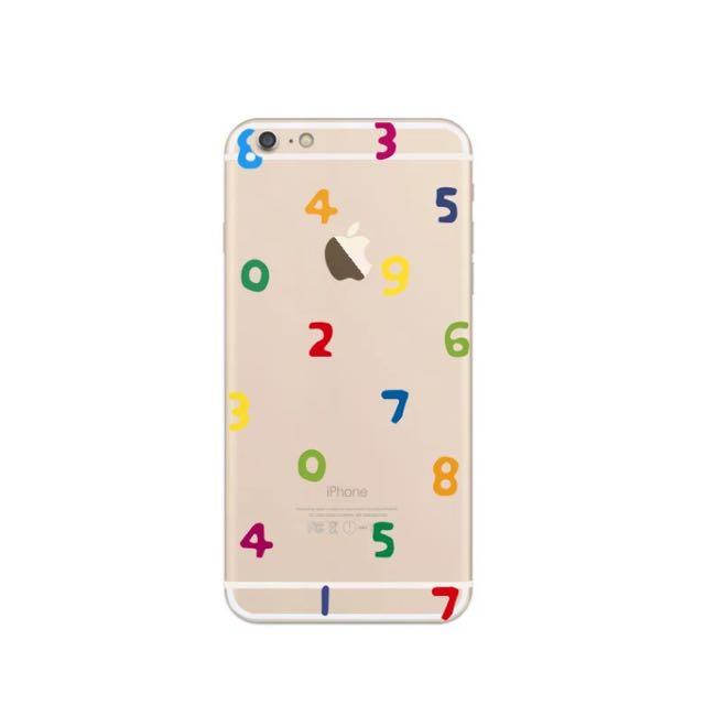 數字iphone6全包軟殼