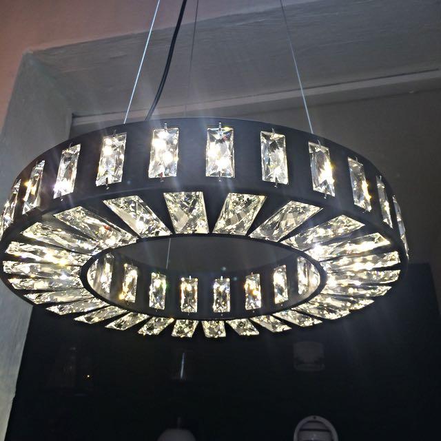 LED Hanging Light With Egypt Crystal