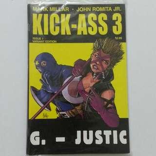 [New] Comics: KICK-ASS 3