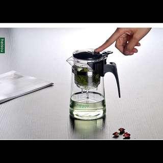 過濾可拆洗玻璃茶具功夫茶道杯/泡茶杯/普洱泡茶壺