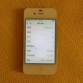 iphone4s 16G 悠遊卡殼