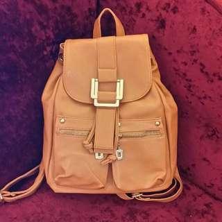 🌴女用__素色後背包 手提包 旅遊包🌴