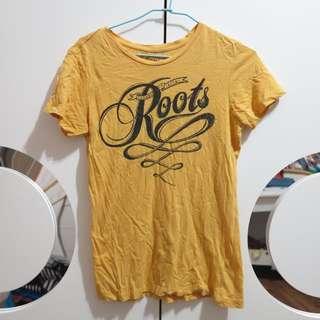 roots短袖T恤