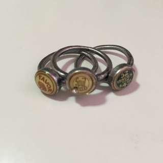 Gozo戒指(三個一組)(免運)