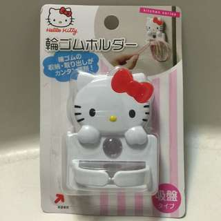 Hello Kitty 凱蒂貓  橡皮筋掛勾