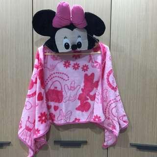 可愛❤️❤️❤️迪士尼米妮小毛毯