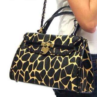 Repriced Moschino Giraffe Bag