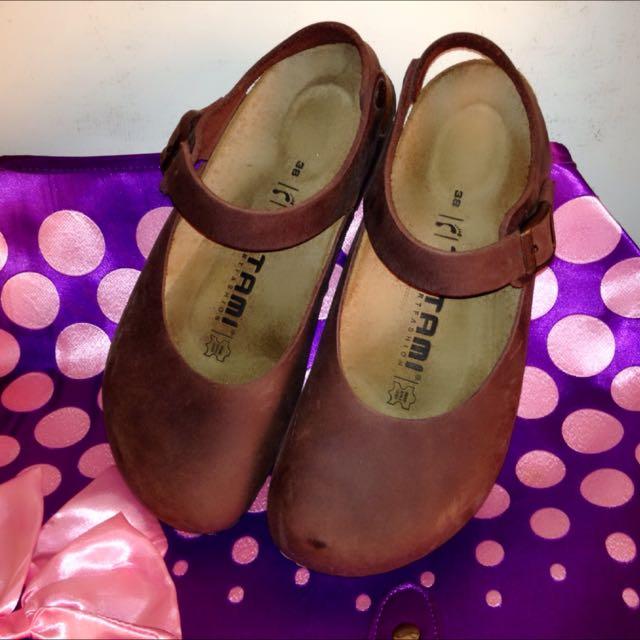 全新勃肯鞋(咖啡色)