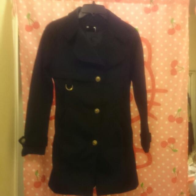 長版風衣外套