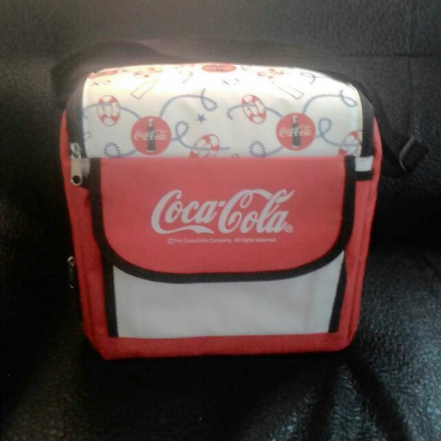 可口可樂限量保冰保溫手提兩用背包