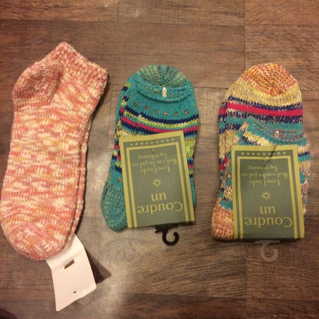 民族風 日系厚襪 22-25cm可穿