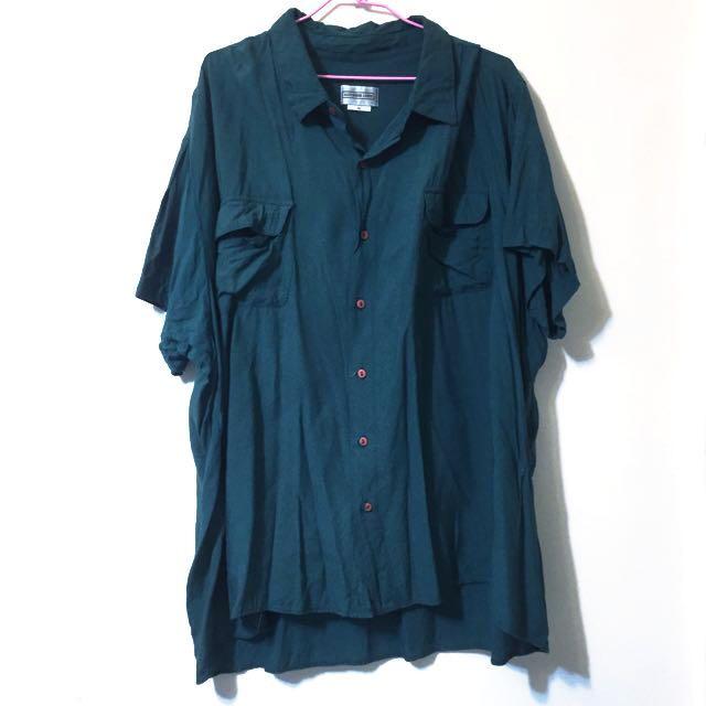 古著 oversize襯衫