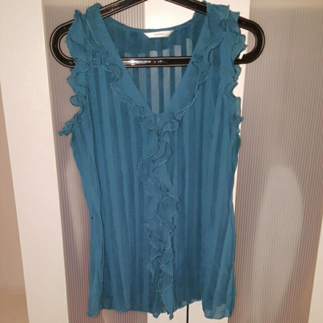 Blue Woman Shirt
