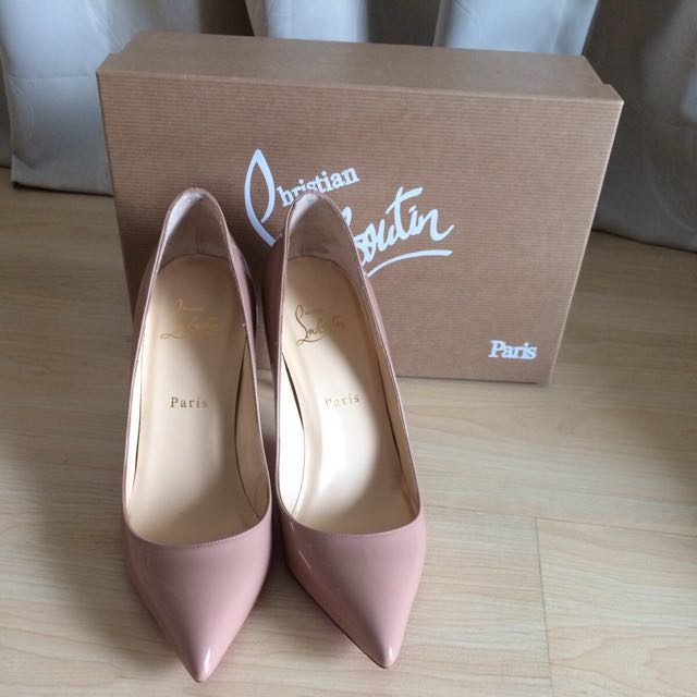 6634a072b111 Brand New In Box Authentic Christian Louboutin Pigalle 85 mm Nude ...