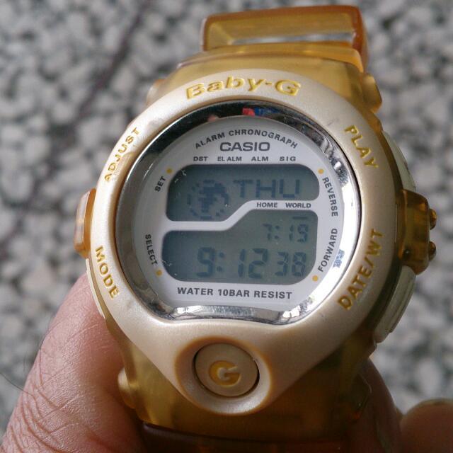 CASIO 1998 世足限量款  Baby-G