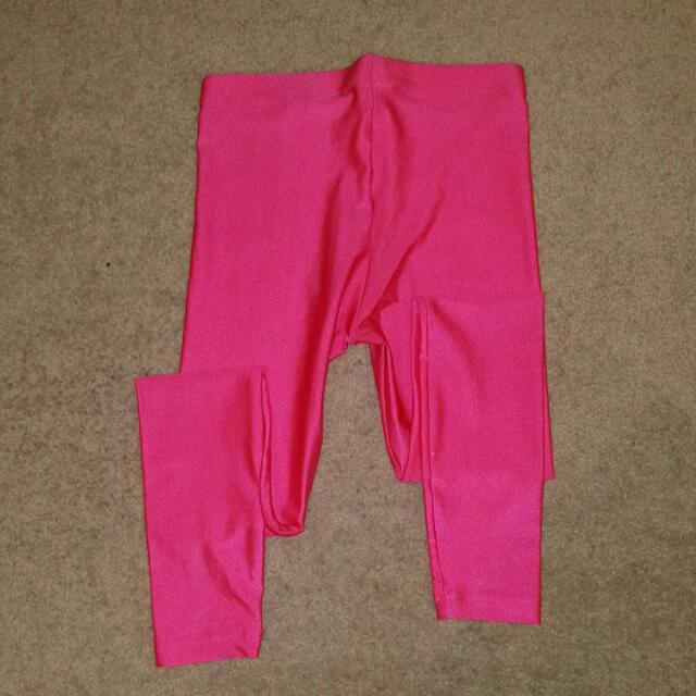 Funky Brilliant Pink Leggins