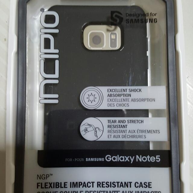 reputable site ad4ed bce49 Incipio NGP for Samsung Galaxy Note 5 (brand new)