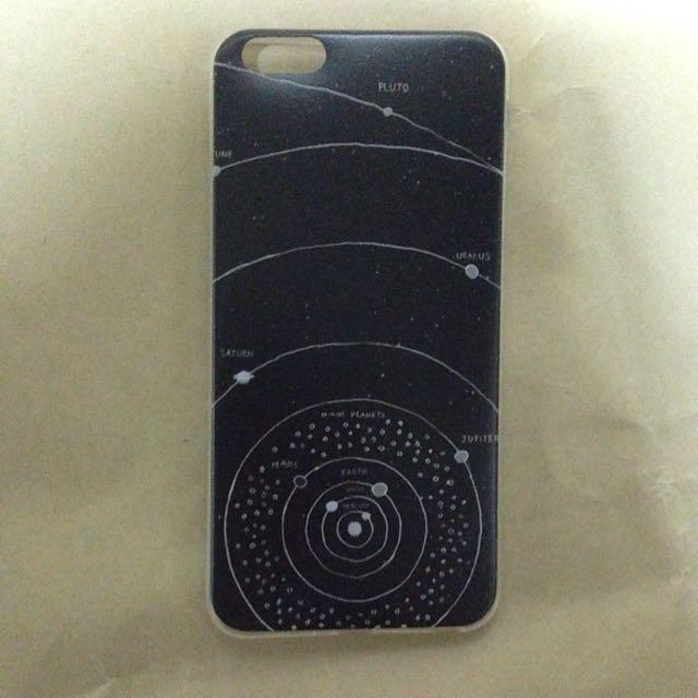黑色宇宙手機殼iphone6 Plus