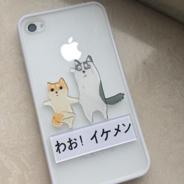 哈士奇柴犬狗狗iphone6手機殼(iphone 6)