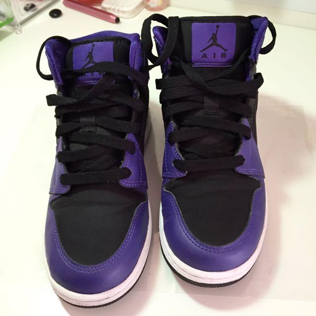 🚚💭Jordan 1 黑紫配色(含運費)