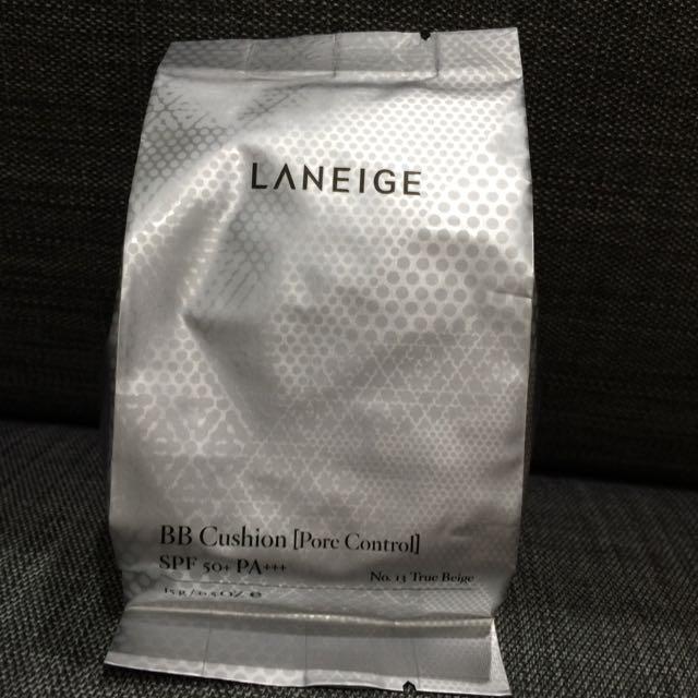 全新Laneige 蘭芝氣墊粉餅補充包 色號13號(控油)15g(免運)