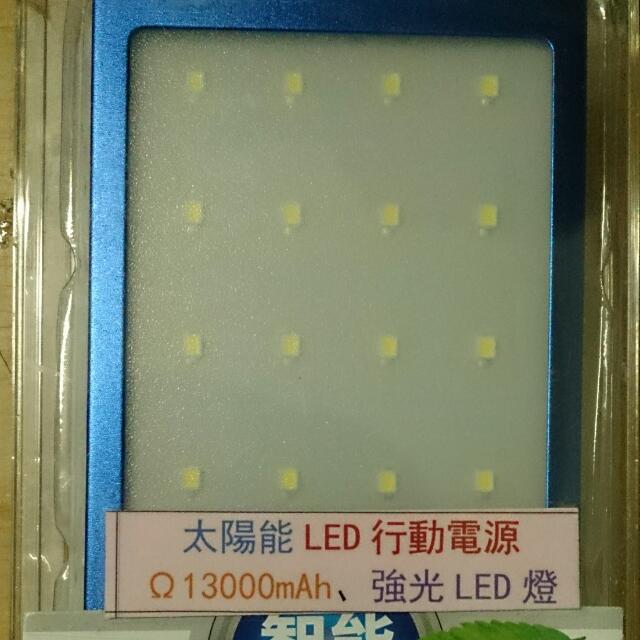 太陽能LED行動電源