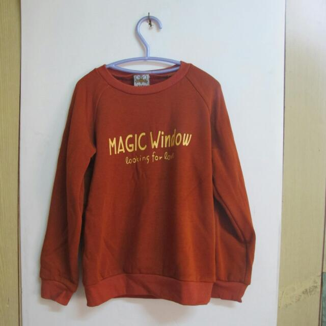 童衣】MAGIC WINDOW橘色衣服