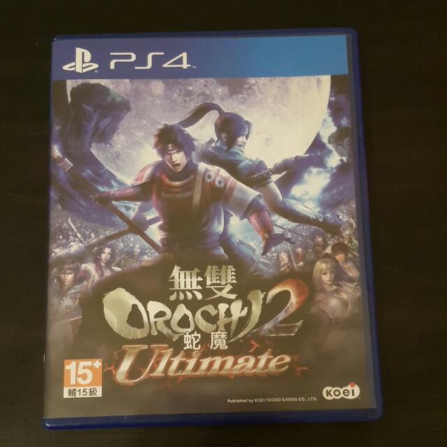 PS4無雙OROCHI蛇魔2 Ultimate (中文版)
