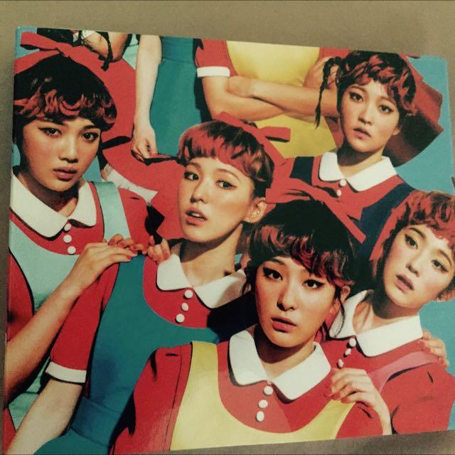 Red Velvet 最新專輯❤️❤️