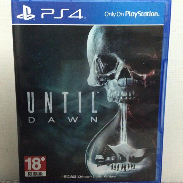 UNTIL DAWN 直到黎明PS4