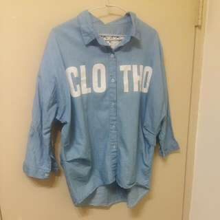 氣質襯衫(也可當薄外套)