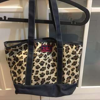 X-girl 豹紋包 購物袋