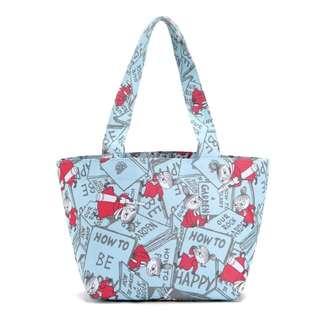 小魔女 小女孩 手提包 手提袋 便當袋
