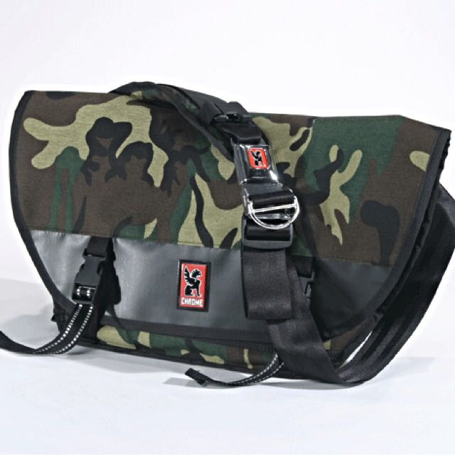 Pending authentic limited chrome industries camo metro messenger bag men  fashion on carousell jpg 640x640 Chrome 49f56436854f5