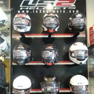 LS2 all type helmets