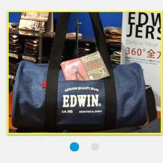 限量 EDWIN 大圓桶包