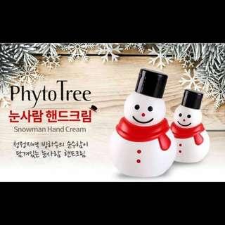 Phytotree 2015 冰川雪人深層保濕護手霜