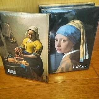 維梅爾 戴珍珠耳環的少女筆記本