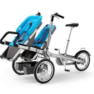 Tagabike (Bike Cum Stroller) With 2 Child Seats