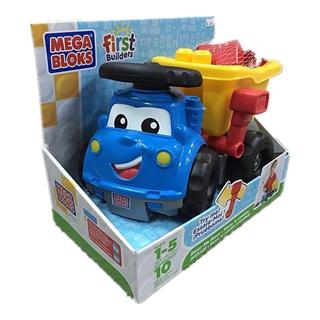 MEGA BLOKS 美加積木 中積木卡車 ( 10 pcs )