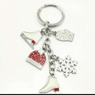 B/N AUTHENTIC COACH Charms Key Ring
